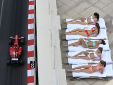 Monaco, Formula One and sexy women! Speed and sun...