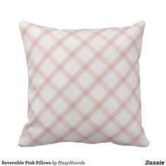 Reversible Pink Pillows http://www.zazzle.com/reversible_pink_pillows-189528945659413450?CMPN=shareicon&lang=en&social=true&view=113829903915989082&rf=238588924226571373