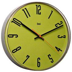 Bai Design Lucite Wall Clock in Cyber All Modern, Modern Decor, Modern Wall, Small Clock, Metallic Spray Paint, Modern Clock, Contemporary Clocks, Wall Clock Design, Pendant Chandelier