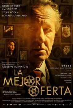 """Buena película de G. Tornatore. Intriga con la precisión de un reloj. Muy distante y distinto del universo de """"Cinema Paradiso""""."""