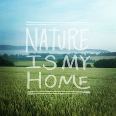 Nature is my home quotes sky home outdoors nature trees landscape