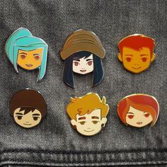 OXENFREE Character Pins