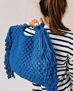 Crochet Bag Tutorials, Crochet Purse Patterns, Macrame Patterns, Crochet Handbags, Crochet Purses, Crochet Hats, Macrame Purse, Organic Cotton Yarn, Net Bag