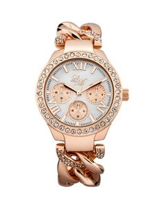 Women's Watches – A Symbol of Style and Uniqueness. Little Mistress Rose  Gold Chain Link Ladies Watch l Buy it now: http:/