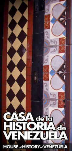 Casa de la Historia de Venezuela | House of History of Venezuela | http://caracasshots.blogspot.com/2012/06/history-house.html #Caracas