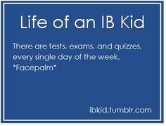 Life of an IB Kid: Sad but true....