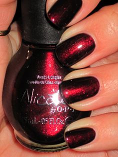 Beautiful Color--  Nicole's Kiss Me At Midnight
