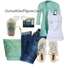 Summer is HERE!, created by chelseawate on Polyvore