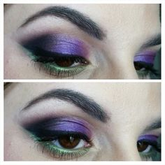 Dramatic Purple look using the Urban Decay Electric Palette By The Beauty Toolbox
