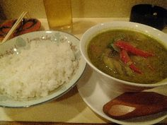 Green curry(グリーンカレー)