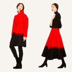 Sybilla, Spanish Designer Comeback 紅與黑的火花