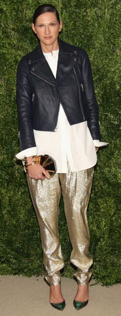 Jenna Lyons: We love you and your gold pants.