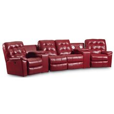 Lane Dream Machine Reclining Power Sectional with Double Reclining Love Seat, Consoles and Cup Holders Wolf Furniture, Living Room Furniture, Theater Seating, Dream Machine, Chesterfield Chair, Gifts For Dad, Love Seat, Recliners, Cup Holders