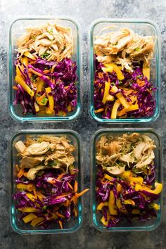 Easy Meal Prep Lunches, Prepped Lunches, Meal Prep Bowls, Healthy Meal Prep, Easy Meals, Healthy Recipes, Lunch Recipes, Healthy Snacks, Healthy Eating