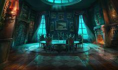 Fantasy Dining Room Concept Art