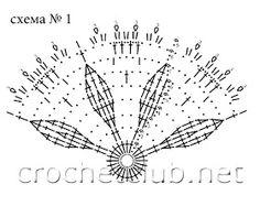 Crochet Diagram, Crochet Motif, Crochet Patterns, Crochet Style, Crochet Blouse, Crochet Bikini, Crochet Fashion, Hand Fan, Stitch Patterns