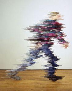 Pedestrian Sculpture by Ryan Johnson