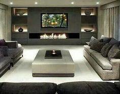 Die Neuen TV Wände Müssen Kaum Mehr Platz Einnehmen In Der Wohnung.  Flachbildschirme Erübrigen In Vielen Fällen Die TV Wand. In Größeren  Wohnzimmern Sollten