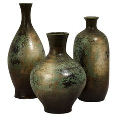 I pinned this 3 Piece Mazatlan Vase Set from the Accents Under $100 event at Joss and Main!  $77.95