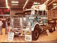 Vintage Trucks, Old Trucks, Western Star Trucks, White Truck, Custom Trucks, Rigs, Tractors, Concrete, Monster Trucks
