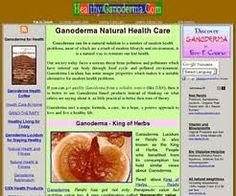 WHAT  IS THE GANODERMA? IS A FUNGO!