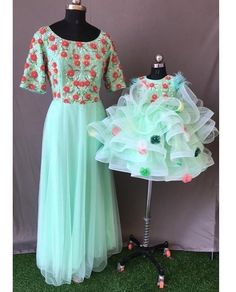 To get your outfit customized visit us at Srinithi In Style Boutique Madinaguda Hyderabad WhatsApp/Call : +919059019000 / or mail us at srinithiboutiquee@gmail.com for appointments, online order and further details... Worldwide Shipping Avalible Ethnic Fashion, Kids Fashion, Mom And Baby Outfits, Stylish Baby, Outfit Combinations, Hyderabad, Appointments, Fashion Boutique, Tulle
