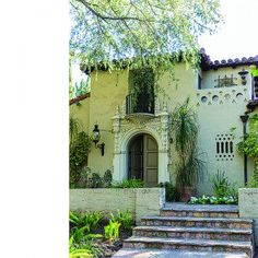 The Guerra family, occupants since found much to love about the ornate 1927 Spanish Colonial Revival Spanish Revival, Spanish Colonial, Residential Interior Design, Interior Architecture, Mix Use Building, Time Stood Still, Santa Barbara, Dream Homes, New Homes
