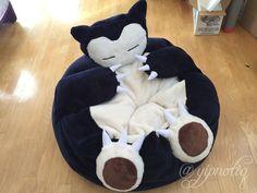Bean Bag Chair Snorlax