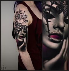 A Series of Beautiful Chaos: Timur Lysenko Trash Tattoos