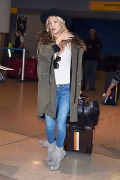 Kate Hudson Airport style