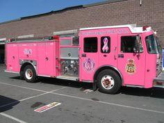 "St. John's Regional Fire Department's ""Passionately Pink Pumper"""
