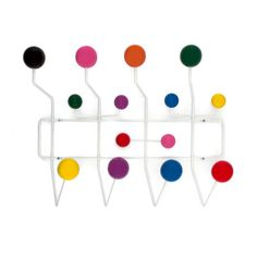 Made from a framework of coated steel wire with lacquered maple wood balls, this modern take on a classic hat rack gives you enough knobs and nodules for all your accessories. Appealing to the eye with...  Find the Ways to Hang Coat Rack, as seen in the Mid-Century's Greatest Hits Collection at http://dotandbo.com/collections/mid-centurys-greatest-hits?utm_source=pinterest&utm_medium=organic&db_sku=DBI1006-MLT