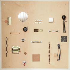 Tablica sensoryczna- DIY - kukumag- blog wnętrzarski, DIY, minimalizm, montessori