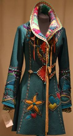 ☮ American Hippie Bohéme Boho Style ☮ Coat. PERFECTION!!!