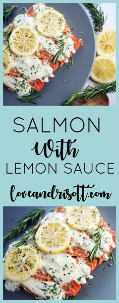 Salmon Cakes With Lemon Sauce