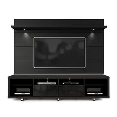 Featuring an understated look and  design, this stream-lined TV stand transforms your entertaining space into a cosmopolitan loft. Use its 3 tiers to arrange DVDs and display framed photos, and then stow remotes and other accessories in its hidden drawers.