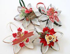 Christmas ornaments - Simple Stories - Scrapbook.com