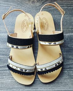 Leather sandals