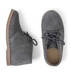 1d44fe982f616 Accessories Grey Suede Chukka Boot by Janie and Jack Boys Designer Clothes,  Janie And Jack