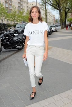 arriving at annual Vogue Festival, 2015