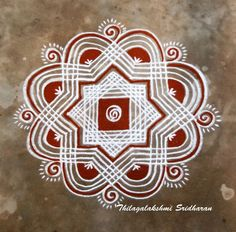 Rangoli Borders, Kolam Rangoli, Flower Rangoli, Indian Rangoli, Rangoli Border Designs, Rangoli Designs Images, Beautiful Rangoli Designs, Rangoli With Dots, Simple Rangoli