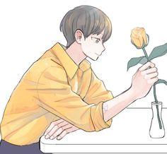 Exo Fan Art, Park Chanyeol, Chibi, Fanart, Wallpaper, Drawings, Artwork, Artist, Cute