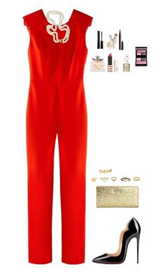 """""""Day 5"""" by sc-prep-girl ❤ liked on Polyvore featuring Maje, Christian Louboutin, Kate Spade, Vintage, Carolina Bucci, Giles & Brother, Surratt, W3LL People, Marc Jacobs and Christian Dior"""