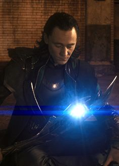 "Loki's expression here speaks to me on so many levels. He's just like ""Oh, not you people again.100% done."""