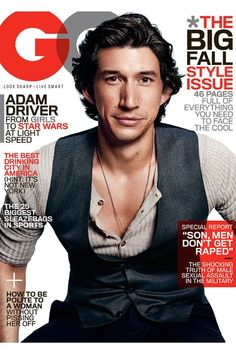 Adam Driver Wears a Questionable Vest on GQ - The Cut