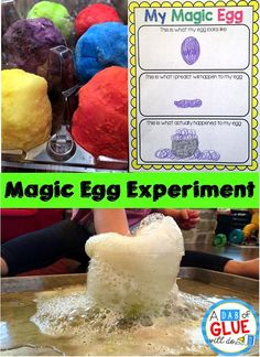 Magic Eggs Science Experiment