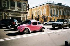 Old school..... Slug bug! PINK!