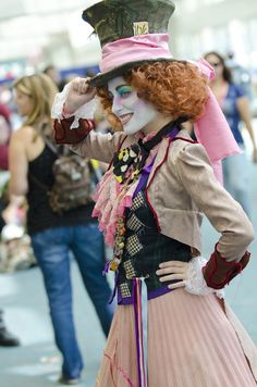 Mad Lady Hatter - Comic-Con 2011 ~ Cos Play