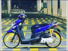 36 Gambar Modifikasi Motor Indonesia Terbaik Motor
