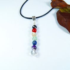 Chakra Rainbow Healing Crystal Wire by LunaCelesteAustralia